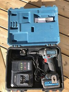 Erbauer Brushless Impact Driver, Battery And Case