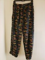 Star Wars Men's Pajama Pants Black Size Small 28-30 Vader all Over Print