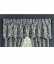 Croscill Vincent Canopy Valance 54 W x 19 L Slate Blue