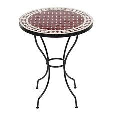 Marokkanischer Mosaiktisch orientalischer Tisch Bistrotisch Gartentisch 60cm Sus