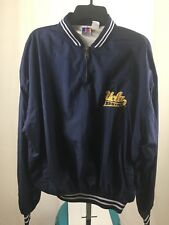 Russell UCLA BRUINS XL Pull Over 1/4 Zip Cotton-lined Windbreaker - UNISEX