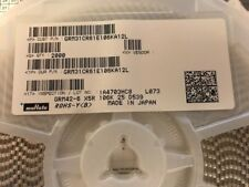 10x GRM31CR61E106KA12L Capacitor ceramic MLCC 10uF 25V X5R ±10% SMD 1206