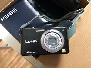 Panasonic LUMIX DMC-FS62 10,1 MP Digitalkamera - Schwarz