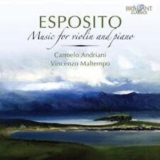 Andriani, Carmelo-Music for Violin and Piano-CD
