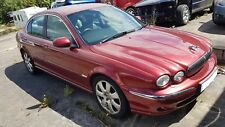 2006 JAGUAR X-TYPE 2.0D X404 , 5 SPEED, RED, 5 DOOR, WHEEL NUT, BREAKING