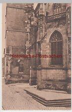 (98963) AK Schorndorf, Stadtkirche, Partie am Chor, vor 1945