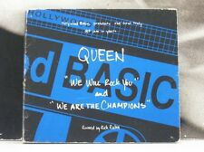 QUEEN - WE WILL ROCK YOU BY RICK RUBIN CD EP 5 TRACKS EXCELLENT // COVER VG+