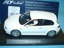 vzzt) FLY A743 88105 ALFA ROMEO 147 GTA Bianco/White/Blanco - slot 1:32 scale