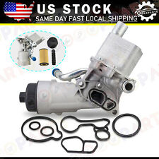 Oil Cooler Filter Housing For Chevy Trax Sonic Cruze Buick 1.4L Engine 55566784