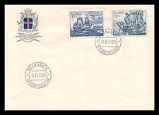 Iceland 1983 FDC, Fishing Industry. Lot # 6.