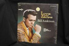 Bill Anderson I Love You Drops - Decca Records