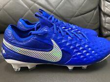 Nike Tiempo Legend 8 Elite FG Size 7 US Hyper Royal Blue/White AT5293-414 New