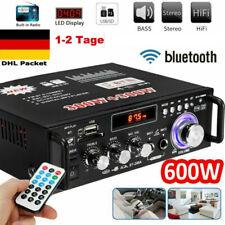 600W HiFi Stereo Verstärker Bluetooth Digital Power Amplifier FM LCD Verstärker