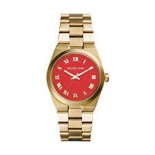 Relojes de pulsera baterías Michael Kors de oro amarillo