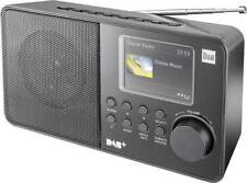 DUAL DAB 18C Taschenradio Portables Digitalradio DAB+ / UKW-Radio, Netz+Batterie