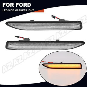 2X LED Seitenmarkierungsleuchte Seitenblinker Für Ford Mondeo Mk4 2007-2015