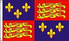 ROYAL STANDARD ENGLAND FLAG 5' x 3' 1405-1603 16th Century King Richard Banner