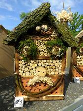Insektenhotel für Wildbienen / Insekten und Co. mit dem Lächeln   (21)