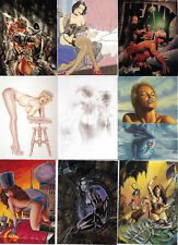 Art of Heavy Metal Set of 90 Trading Cards