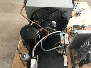 Used Walk In Cooler Compressor, Condenser And Evaporators