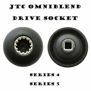 JTC Omniblend Spare Parts New Improved  Drive Socket With Metal Inner Lining