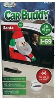 Santa Claus Car Buddy 3' Christmas Airblown Inflatable Light Up Gemmy Adaptor