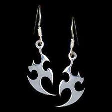 1 Paar Ohrhänger mit Tribalmotiv Ohrringe aus 925er Sterling Silber