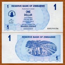 Zimbabwe, 1 dollar, 2006, P-37, AB-Prefix, UNC