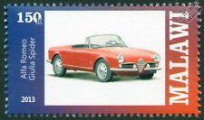 ALFA ROMEO GIULIA SPIDER Sports Car Automobile Mint Stamp