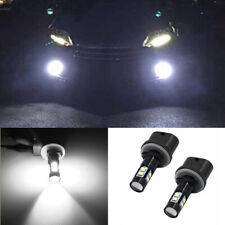 2x 880 899 50W 6000K White High Power LED Projector Fog Lights Bulbs