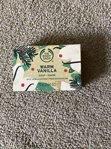 The Body Shop Warm Vanilla Soap