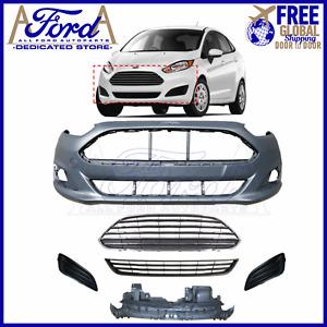 Ford Fiesta 2013-2017 MK7.5 Front Bumper Kit Complete New C1BB-17757 C1BB-17B968