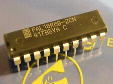 5x PAL16R6B-2CN TTL programmable array logic, MMI