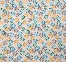 Sweet & Sassy by lief! Lifestyle Quilting Treasures BTY Blue Green Yellow Floral