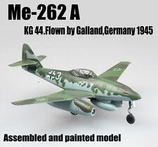 WW2 German Me 262 A Schwalbe KG44 by Galland plane aircraft diecast Easy model