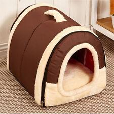 Super Soft Warm Pet Dog Cat Bed House Kennel Mat Pad Washable Puppy Cushion SM/L