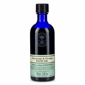Neal's Yard Remedies - Geranium and Orange Bath Oil 100 ml.