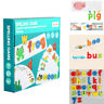 1 Set Spelling Words Game Funny Educational Playthings Study Tool for Children