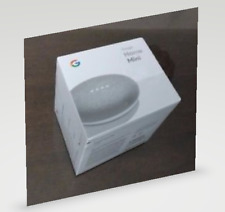 Google Home Mini Digital Media Streamer - Chalk