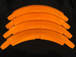 Hot Wheels Vintage Track - 90 Degree Curve X 4 6223-040 Non Stackable