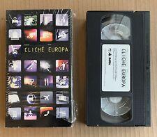 2000 Cliche Skateboards - Europa Vhs Skate Video Skateboard Puntus Alv