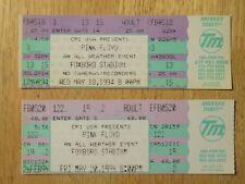 UNUSED PINK FLOYD May 18-20 1994 FOXBORO STADIUM Concert Tickets WALTERS GILMOUR