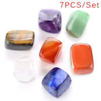 7PCS/Set Chakras Yoga Energy Stone Healing Natural Crystal DIY Jewelry Mak F_5
