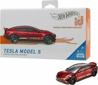 2019 Hot Wheels id TESLA MODEL S ☆red☆ Uniquely Identifiable Vehicles ☆Series 1
