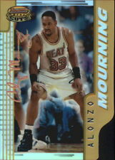 1996-97 Bowman's Best Cuts Refractors Heat Basketball Card #BC8 Alonzo Mourning