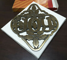 Vintage Avon Collectible Holly & Joy Trivet Avon Gift Collection In Original Nib