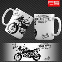 Tazza Mug BMW R1250 GS Hp Motorrad Exclusive Adventure Boxer Style Idea Regalo