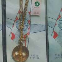 70th Osaka Expo Commemoration Tower of the Sun Golden Face Necklace C from JP