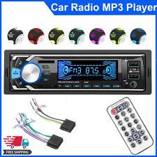 1DIN AUTORADIO MIT BLUETOOTH MUSIK FREISPRECHEINRICHTUNG MP3 TF AUX DUAL USB 12V