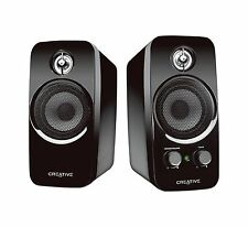 Creative Inspire T10 2 0 Multimedia Speaker System with BasXPort Technology NEW